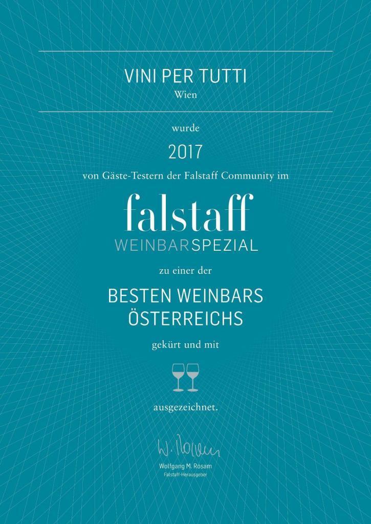 Falstaff Special WeinBar - Vini per tutti